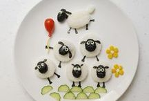 Decor with food / by Reina van der Vinne