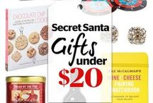 Secret Santa Gifts / Behold the amazing gifts you can give -- and get -- for $20, $10, and even less. Now go make those holiday wishes come true.