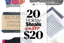 Cheap Gifts Under $20 / Cue a sigh of relief. With these gifts, you'll wow the rest of your list without spending a fortune.