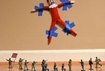 Christmas fun / Elf on the shelf ideas