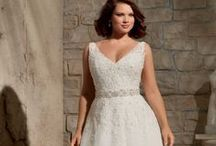 Curvy Bridal & Evening Wear / Real brides and models for the curvy woman.  / by Chic Nostalgia