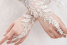 Accessorize! / Gloves, Wristlets, Corsages, Clutches, Tussie Mussies,  Waaiers, Parasols, Bouquets..Romantic and fun for your wedding or photo shoots / by Chic Nostalgia