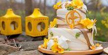 Wedding Cake Ideas / Multi-tiered, floral, cake, cupcake, novelty, icing, celebration, wedding