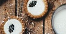 Mince Pie Designs & Recipes / Snowflakes, star, traditional, Christmas tree and filo pastry, mincemeat