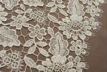 Fine Fabrics & Lovely Laces / Know your fabrics and laces for your bridal gown.  / by Chic Nostalgia