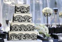 Black & White Wedding Cake Ideas / Cakes, Cupcakes, Cake Pops and Cookies, wedding, celebration