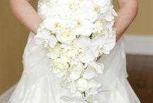 Cascading Bouquets / www.lushfloraldesgnpdx.com Serving Portland, Oregon and Vancouver, Washington. Wedding and Event floral design. Wedding bouquets, centerpieces, ceremony floral, Cake floral, Boutonnieres', Altar floral, corsages, aisle petals. Contact us at www.lushfloraldesignpdx.com