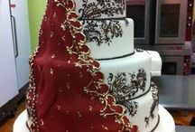 Indian Celebration Cake Designs / Wedding cakes, cookies, cupcakes and cake pops, gold, henna