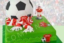 Football / Soccer Cake Ideas / soccer, football, goal, net, team, Arsenal, Manchester United, Liverpool, grass, match, pitch