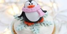 Christmas Sugar Decoration Tutorials / Step by step, tutorial, pictorial, how to, simple, easy, festive, Christmas tree, snowman, penguin, bauble