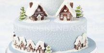Winter Themed Cake Ideas / Robin, snow, Christmas, holly, ice, holidays, winter