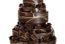 Chocolate Cakes & Recipes / Wedding, celebration, strawberry, cookies, rocky road, chocolate, white chocolate, profiterole, frill, ruffle, oreo. flake, cigarello