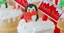 Penguin Cake Ideas / Snow, ice, cute, Christmas, winter, Pingu