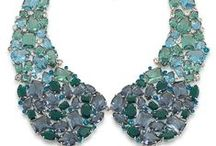 GEMS & TONIC! / These GORGEOUS blue and green pieces tie together any outfit, especially those party ones! / by CAROLEE