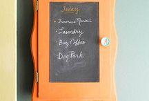 Chalkboard Paint Projects