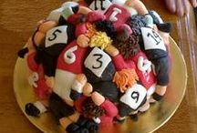 Rugby Cake Ideas / Rugby ball, union, league, rugby players, pitch, six nations, scrum