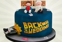 80s Themed Cake Ideas / Packman, vinyl, Garfield, Back to the Future, Ghostbusters, Cabbage Patch, Rubix Cube, Trolls, Smurfs, A-Team, Banana Man, Care Bears, Muppets, Goonies and more...