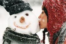 Snowmen* / by 'Donna Marie'
