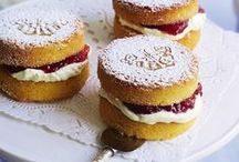 Afternoon Tea Ideas / cakes, sandwiches, tea, biscuits, cake stands, cookie cutters, Katy Sue Moulds