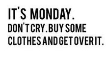 Farewell Monday Blues / Just some little things to pick you up on a Monday morning...