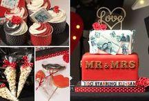 Movie/Cinema Wedding Cake Ideas / movie, film, cinema, popcorn, film reel, Lego, Game of Thrones, Batman, Back to the Future, Nightmare Before Christmas, Great Gatsby, Alien
