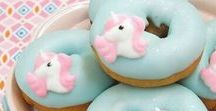 Unicorn Treat Ideas / Unicorn, fairy tale, rainbow, magical, cake, cupcakes