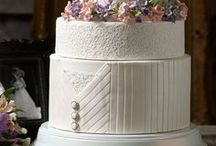 Rose Quartz Wedding Cakes / Rose Quartz, Wedding, Cakes, Blush, Pink, Compassion, Soft