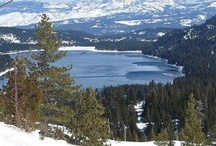 Truckee Lakes / Donner Lake and other Lakes in Truckee, California