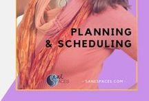 Planning & Scheduling / Time Management | Organizing Tools | Printables | Planning | Work Life Balance | Weekly Planner | Moms In Business | Working Moms | Sane | Organized Business | Business Planning | Free Template | On-Line Business