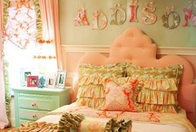 Dream Home Girls Bedroom / Dream Home Princess BEDROOM / by Muruvvet Simsek
