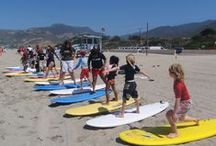 Los Angeles Surf Camps / Does your child want to learn to surf this summer? Discover Aloha Beach Camp, one of the top beach and surf camps for kids and teens in Los Angeles, California. No prior experience necessary. We'll have your son or daughter surfing all the way from the ocean to the shore on their very first day of camp! www.alohabeachcamp.com
