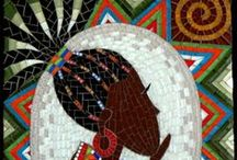 Mosaics You Will Love / mosaics by artists all over - some of my favs!  Enjoy!