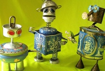 Robots, Found Object Makings / by FG Simpson