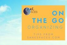 Organizing On The Go / Organizing | Mobile Office | Organized Travel | Business Mom | Working Mother | Mompreneur | Entrepreneur Organized| Online Business Organization |
