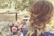 Hippie Hair / Inspirational photos, tips, and tricks for lovely locks