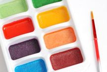 All type of paints / Different kinds of paint  / by Calli Fox