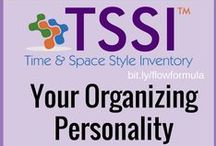 Organizing Personality Types: 6 Organizing Style Preferences! / Get Organized | Organization Personality Type | TSSI | Time Tips | Hacks To Get and Stay Organized and Manage Time | Flow Formula | Time Personality Style | Lifestyle Solutions | Productivity | Assessment | Self-Help | Personal Development | Time Solutions | Organizing Tips | Use this board to share products, services, suggestions and ideas to help people support their Time Management Personality Style Preferences. Take the quiz here: http://sanespaces.com/prm/tssifree/