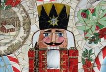 Christmas Mosaics / Make great mosaic Christmas decorations and gifts for you and your friends.
