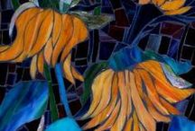 Stained Glass Mosaics / Everything about Mosaics made out of stained glass