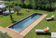 Reportage photo : une Piscinelle dans la Drôme provençale / Découvrez notre reportage sur une piscine phare de Piscinelle, le couloir de nage.
