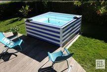 Mini piscine / Les mini piscines sont des bassins de plus en plus en vogue ces dernières années.  D'un esthétisme souvent surprenant et affiné, nous vous proposons une sélection des meilleures mini piscines.