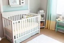 Baby & Nursery Organization / Smart & stylish storage solutions for your little one's room.  Everything has a place, just finger tips away.
