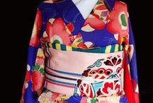 Kimono 着物 / Kimono, Yukata, Modern Retro