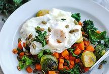 Breakfast and Brunch / Breakfast ideas for every day and your next weekend brunch. Savory breakfasts like sweet potato hash, scrambles, greens, eggs, avocado toasts, breakfast tacos, and quiche. Sweet breakfasts too like smoothies, fruits, chia pudding and parfaits, oats, pancakes, muffins, and more. Many recipes are gluten-free and have options for dietary and health needs. Check out recipes and egg how-tos by Heather Bursch at shemadeitshemight.com.