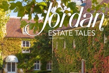 Magazines / A collection of past issues of Estate Tales, Jordan Winery's annual magazine.