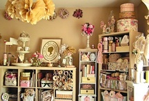 H O M E :   A T E L I E R * S T U D I O / Beautiful studios, magnificent craft rooms, stylish home offices. / by Louie Louie Bebe