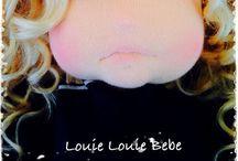 W A L D O R F - D O L L S : Louie Louie Bebe / OOAK handmade Waldorf dolls by Louie Louie Bebe. *www.louiebebe.com* *http://louielouiebebe.etsy.com* Look for Louie Louie Bebe on FB