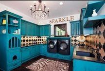 H O M E :  L A U N D R Y / Gorgeous Laundry rooms.