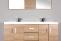 AT-8043-L Double Modern Bathroom Vanity