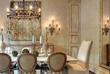 H O M E :  D I N I N G / Beautiful Dining rooms, settings etc.